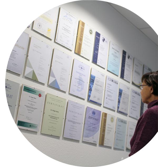 Qualifikationen und Weiterbildungen von Dr. med. dent. Holger Seiss
